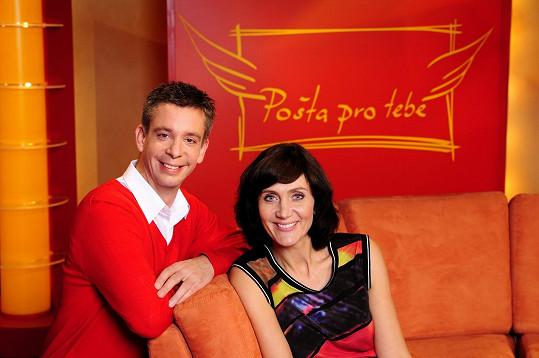 Martin Kavan alias pošťák Ondra s Ester Janečkovou