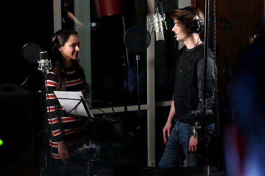 Marek Lambora a Eva Burešová nazpívali song Píseň kovbojská.