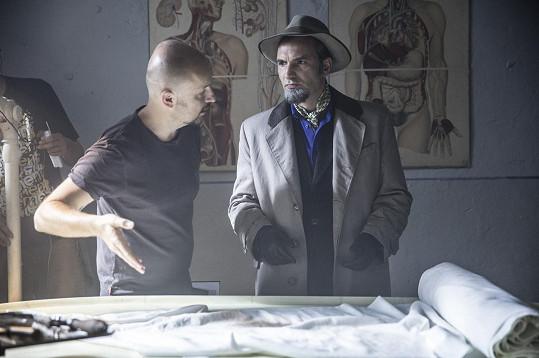 Jiří Macháček s režisérem Tomášem Mašínem