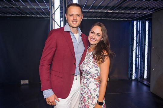 Marie s manželem Janem Křížem, který v muzikálu také hraje.