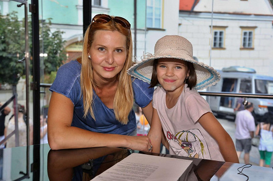 Ivana Gottová s dcerou Charlotte