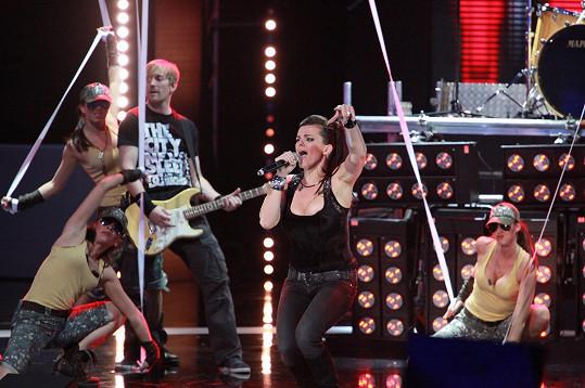 Jandová se chystá na turné se svou kapelou.