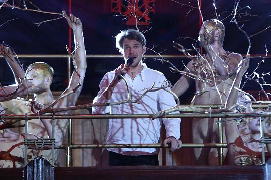 Pěvecké vystoupení doprovázeli tanečníci ze skupiny diVize.
