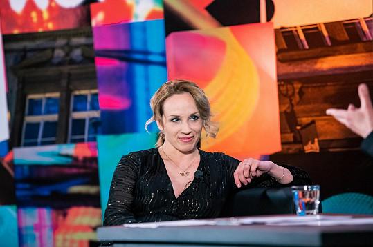 Byla hostem talk show 7 pádů Honzy Dědka.
