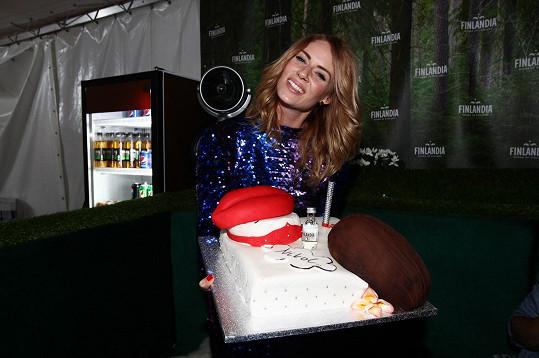 Tohle byl její dort.