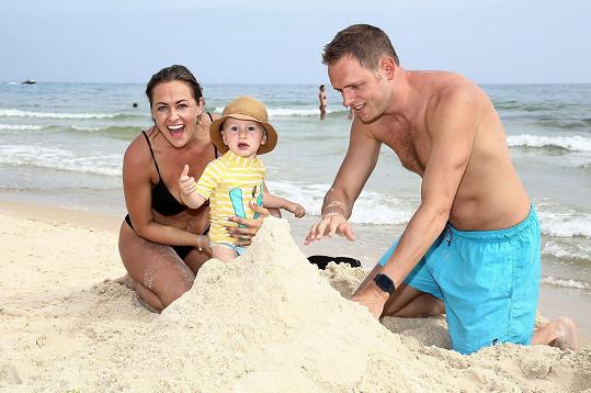 Stavěly se hrady z písku.