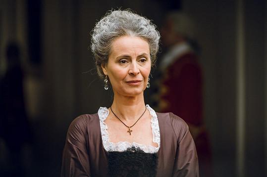 Lenka v roli hraběnky Karolíny Fuchsové