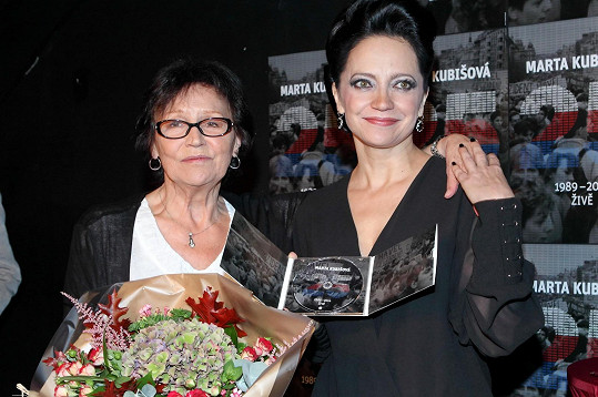 Lucie Bílá a Marta Kubišová