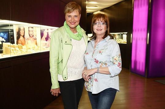 Marie Retková a Marie Tomsová se už teď připravují na říjnové moderování koncertu slovenských umělců.