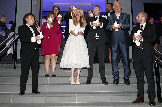 Simona otevírala hotel v Tatrách.