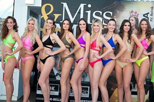 Finalistky soutěže krásy Miss Look Bella
