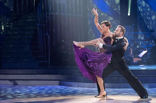 Olga Šípková a Marek Dědík se postarali o nejlepší tango večera.