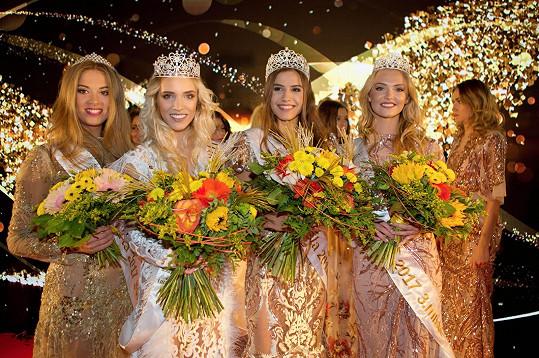Vítězky loňského ročníku Miss Léta 2017