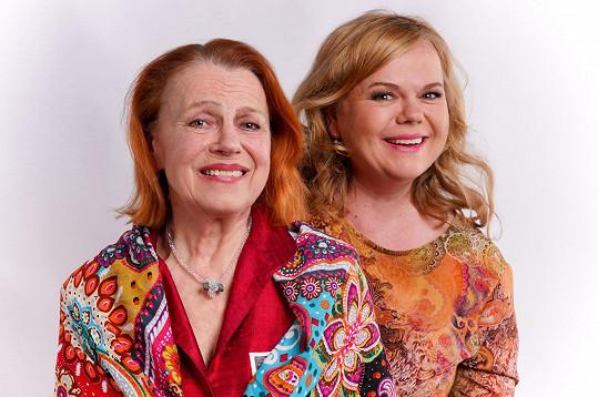 S dcerou Sabinou Remundovou, která režíruje její nejnovější představení.