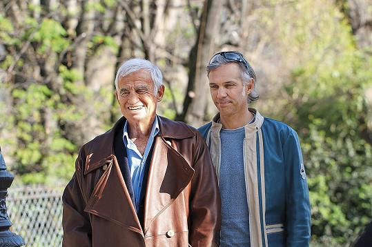 Slavný otec a jeho syn ve filmu Belmondo