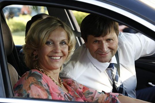 Manželé se společně objeví v seriálu Všechny moje lásky.
