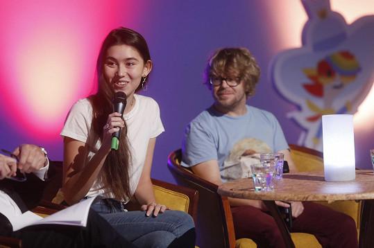 Naomi Adachi bude s Michalem Isteníkem uvádět pořad Futuro.