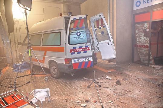 Nemocnice Rubava vybouchne.