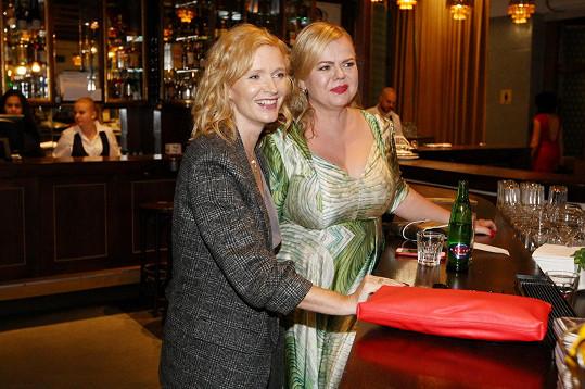 S kolegyní Aňou Geislerovou