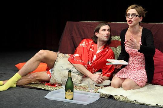 Lucie Zedníčková a Jaroslav Matějka si partnery zahrají i v divadle.