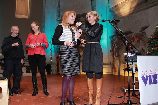 Dagmar Havlová zahájila tradiční Mikulášský charitativní bazar.