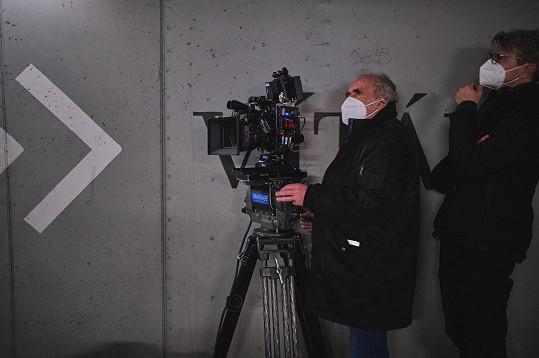 Za kamerou stanul Vladimír Smutný.