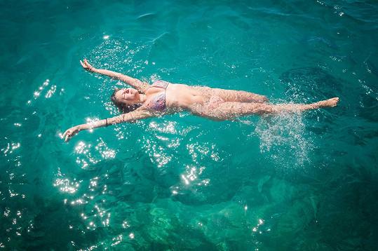 Dovádění v moři