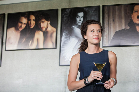 Marie Málková hrála partnerku hlavního hrdiny ve filmu Fotograf.