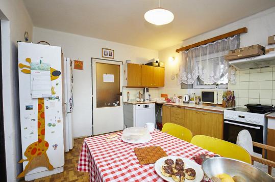 Kuchyně by také potřebovala úpravy.