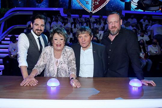 S herečkou jsme se setkali na natáčení show Máme rádi Česko, kde nebyla poprvé.