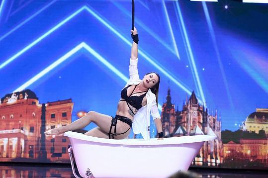 Viviana Rossi okouzlila porotu Talentu.