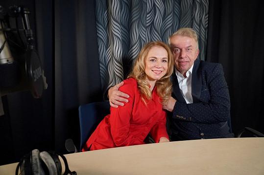 S kamarádkou a kolegyní Martinou Kociánovou