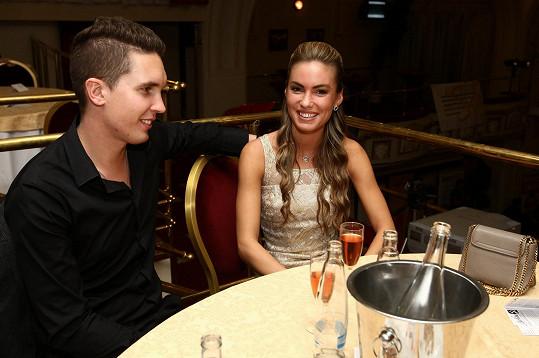 Na charitativní akci Yvetty Blanarovičové přišla s přítelem.