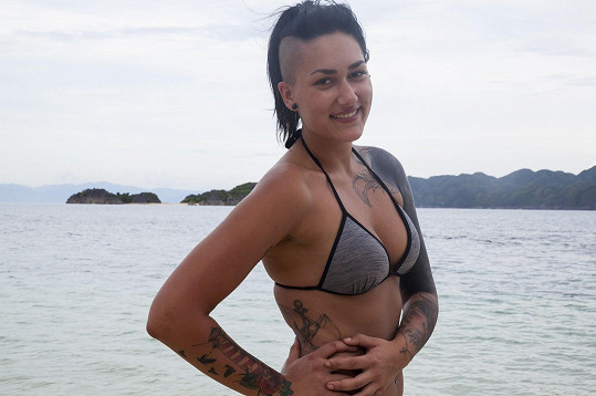 Barbora Hájková si potrpí na tetování.
