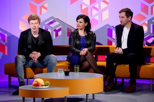 Zpěvák byl hostem v show Na Pavláska.