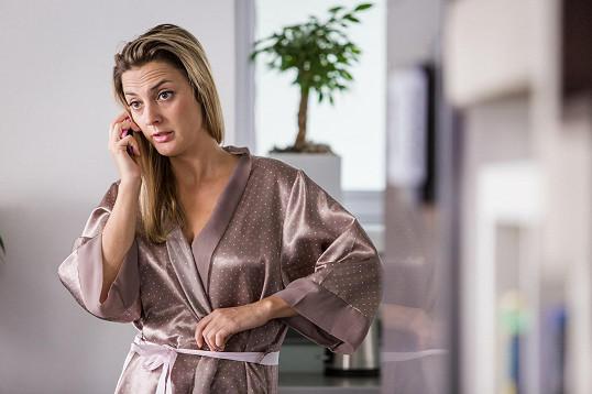 Bára Poláková hraje v seriálu ČT Neviditelní.