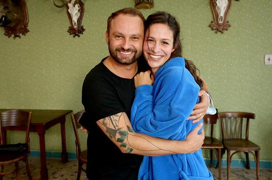 Marek Dědík s kamarádkou ze StarDance Veronikou Khek Kubařovou.