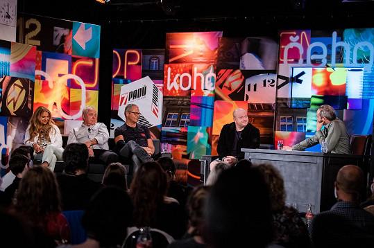 David Novotný v Talkshow 7 pádů Honzy Dědka