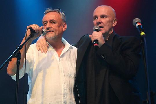 Společně vyrazili na koncert Richarda Tesaříka.