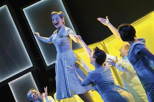 Monika Absolonová se vrací jako Evita.