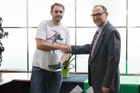 Igor Chmela a Pavel Kikinčuk