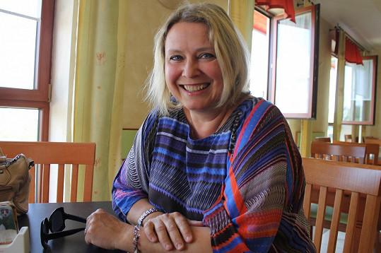 Kateřina Lojdová přijela zavzpomínat do Hoštic.