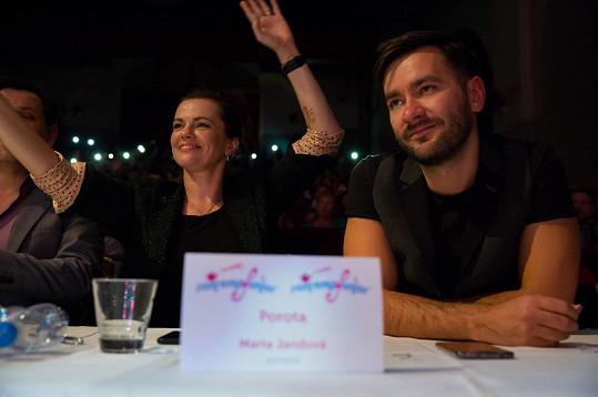 Zároveň s Markem Ztraceným usedla do poroty a společně se podíleli na výběru mladých talentů.