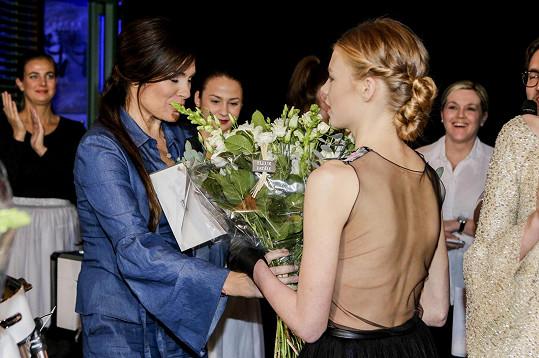 Hvězdným hostem galavečera byla topmodelka Alena Šeredová, která na akci přiletěla z Turína.