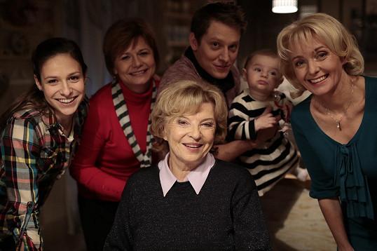 Libuše Švormová a její seriálová rodinka