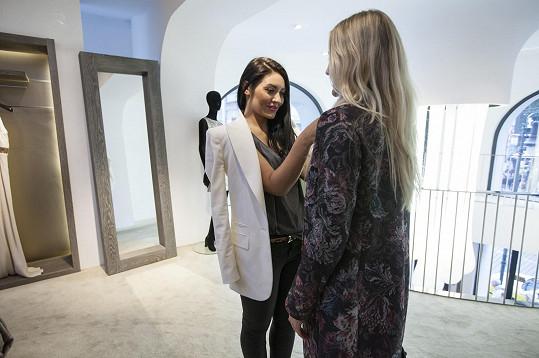 Výběr modelů se stylistkou