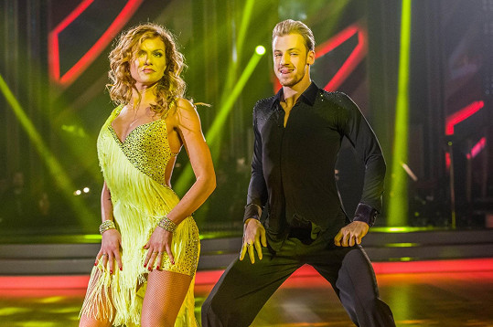 Gabriela Koukalová a Martin Prágr znovu tančili sambu.