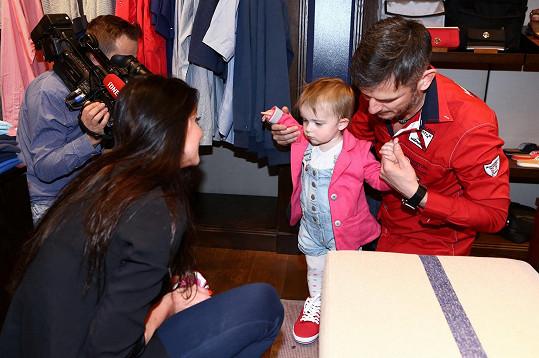 Andrea s dcerou vyrazila na módní akci, kde se potkala s Lumírem Olšovským.