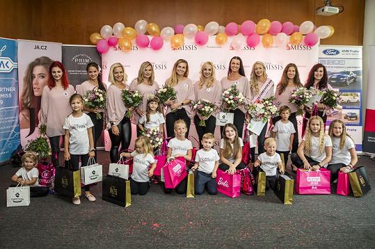 Finalistky České Missis 2020