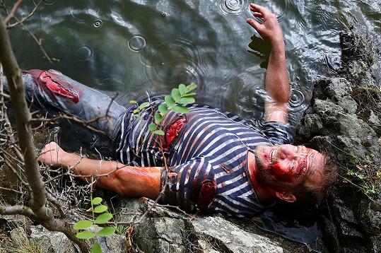Filip Blažek přežil v seriálu svou vlastní smrt.